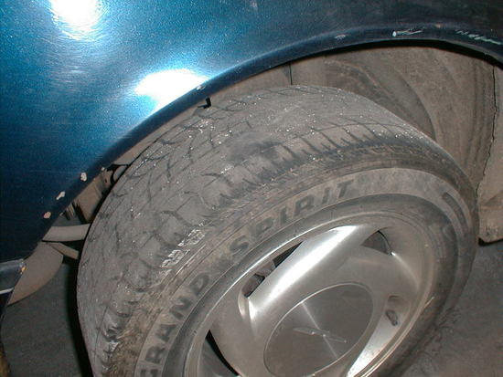 Tire Placement Issue