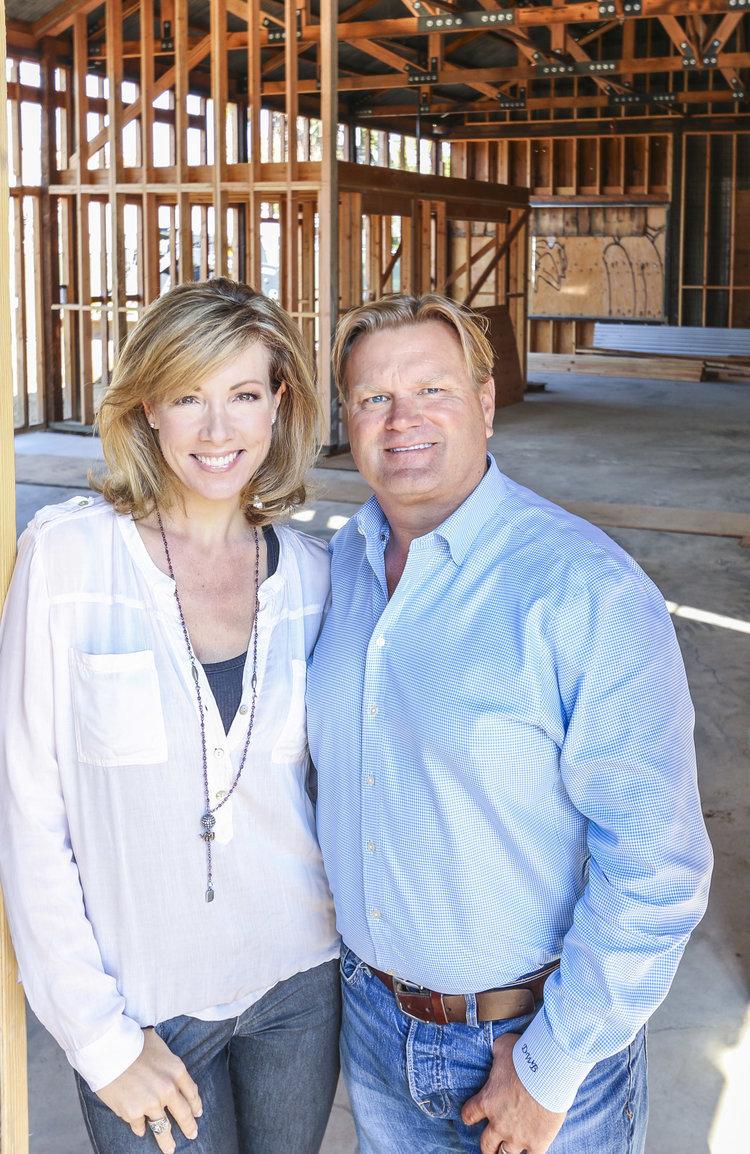 Darrell Becker and Kirsten Becker, the co-founder of Becker Studio