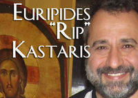"Euripides ""Rip"" Kastaris, Iconographer and Artist for the Official USA Olympic Committee poster for the 2004 Olympics in Athens"