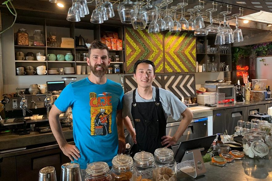 Cajé Coffee Opens on Haley Street - BizHawk