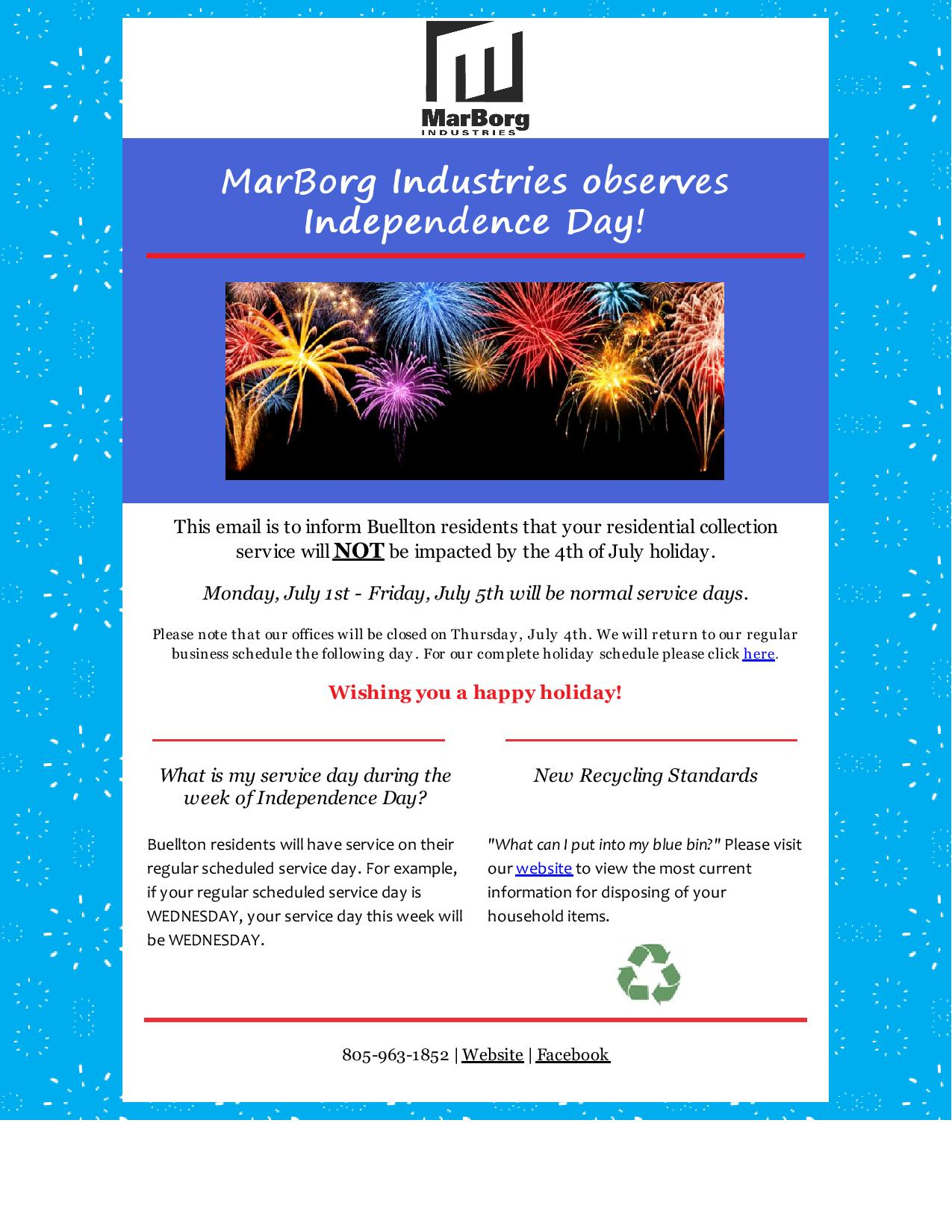 Marborg Industries Observes Independence Day!-2