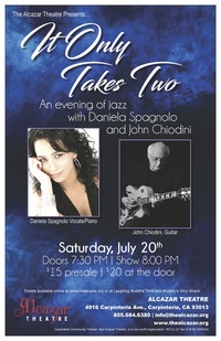 It Only Takes Two: Daniela Spagnola and John Chiodini