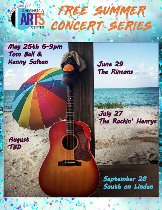 Summer Concert Series 2019 Flier