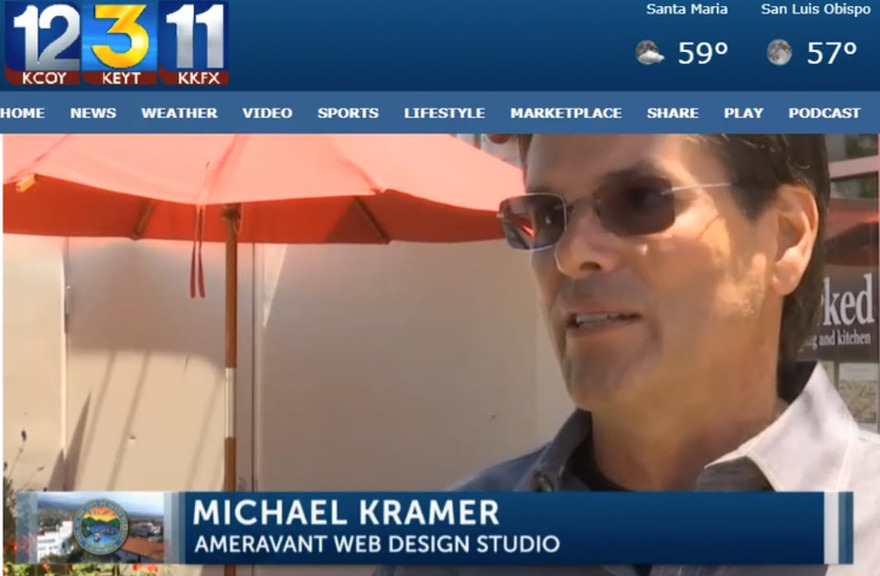 KEYT 3 with John Palminteri Interview with Michael Kramer