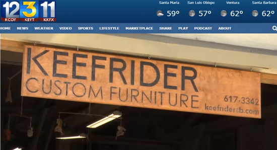 KEYT 3 with Keefrider Woodworking