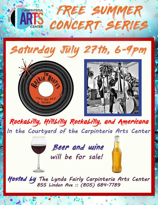 Summer Concert Series - The Rockin' Henrys