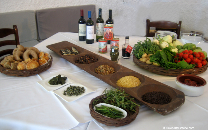 A Greek Islands Destination Cooking Class Image of Agriculture Products