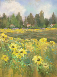 Fields of Flowers Pastel