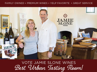 Vote Jamie Slone Wines Best Urban Tasting Room!