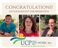 Recent Job Promotions for Three in Santa Maria