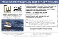 Free Styrofoam Recycling Drop-Off Now Available