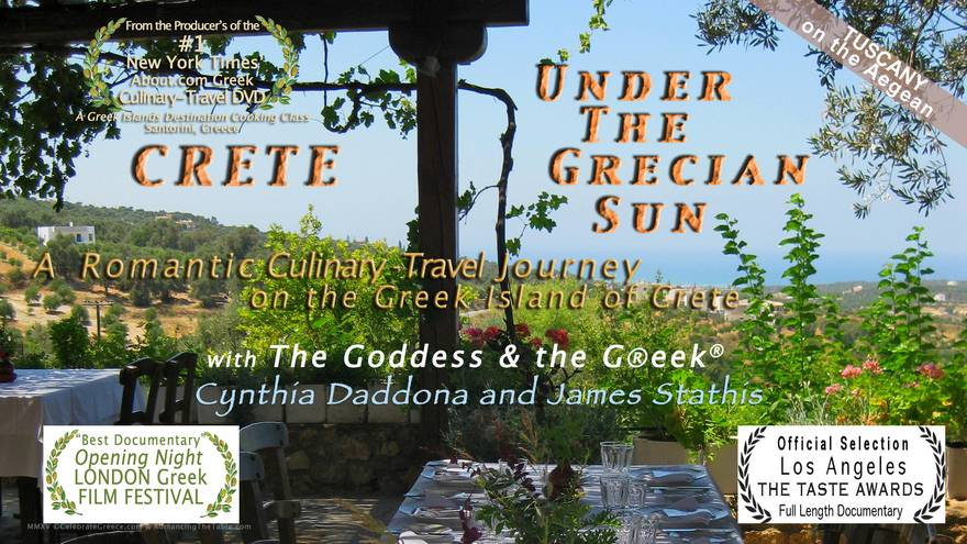 Crete - Under the Grecian Sun, A Romantic Culinary Travel Journey