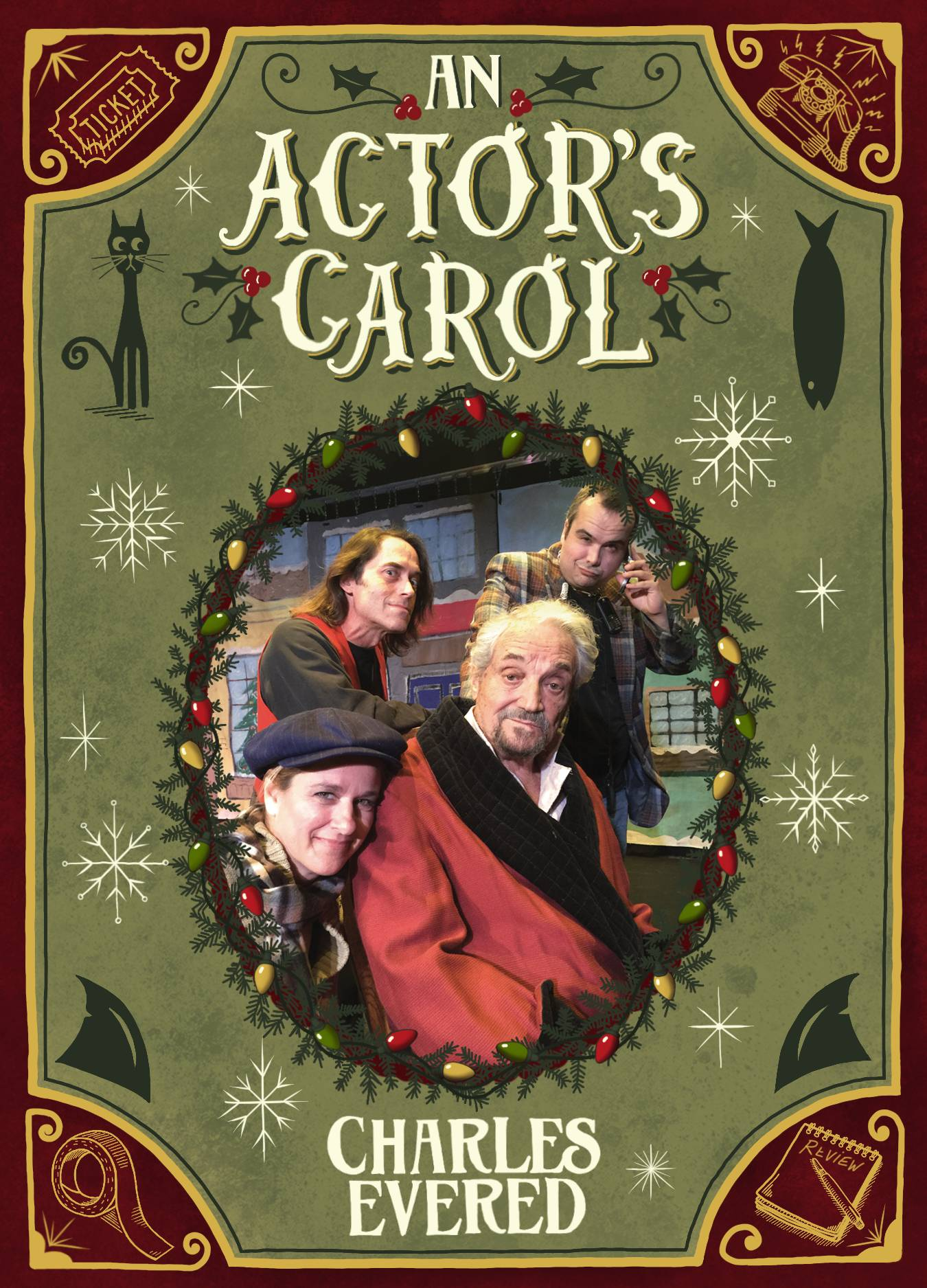 An Actor's Carol Play by Charles Evered
