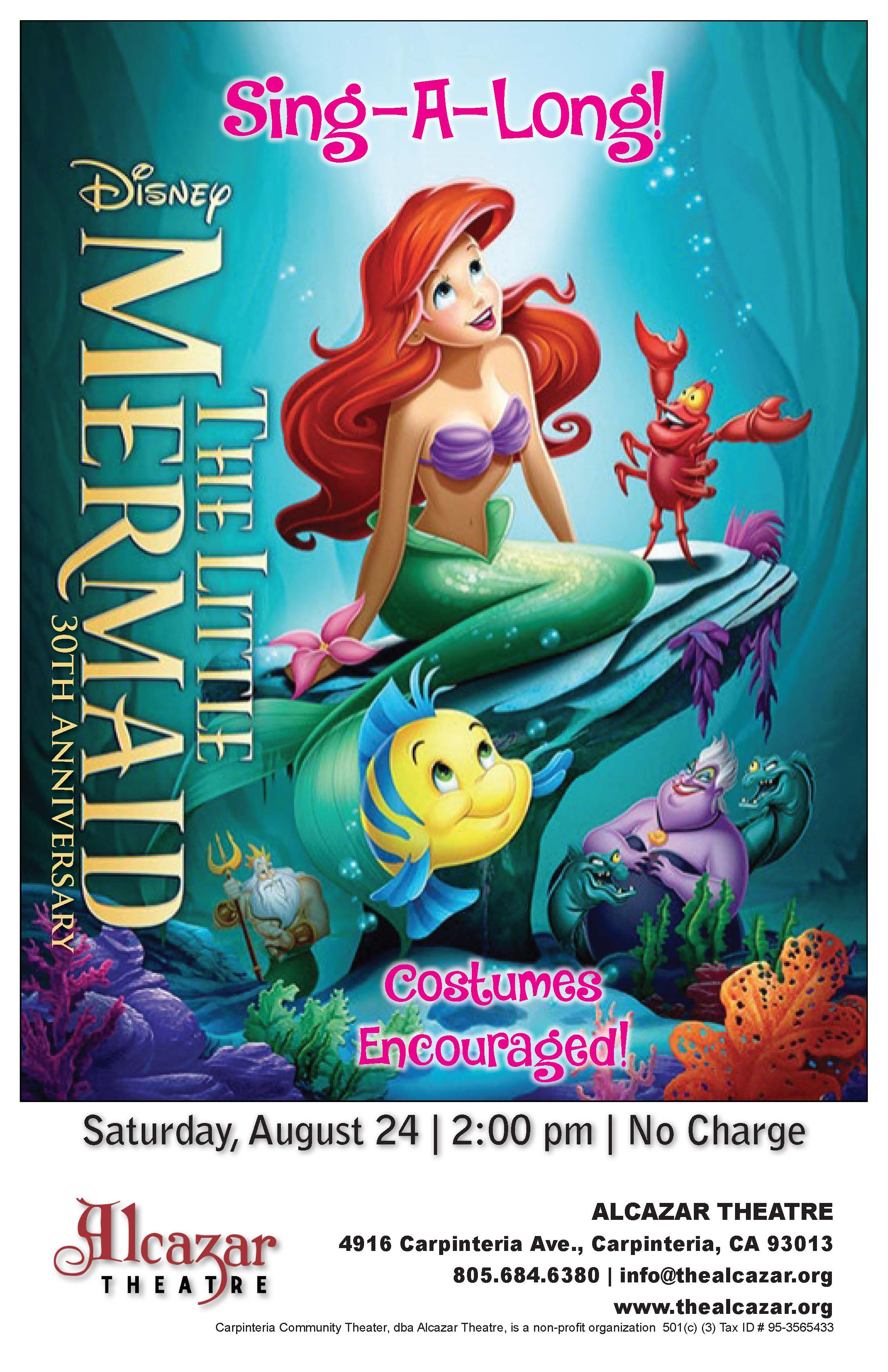 FREE EVENT: The Little Mermaid Sing Along