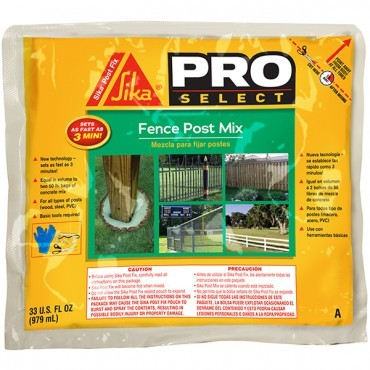 Sika Fence Post Mix Product