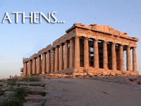 Stock Footage Athens Greece Ancient Acropolis Temple Parthenon Erectheum Nike Victory Theater Dionysus Herodes Atticus