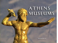 Stock Footage Athens Museums National Archaeological Museum Acropolis Museum