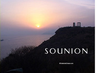 Stock Footage Sounion Greece Ancient Temple Poseidon Jupiter Sunsets