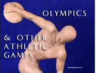 Stock Footage of the Ancient Olympics Olympia Athletic Games Olympiad Nemea Nemean Delphi Pythian Isthmia Isthmian Athens Panathenaic 2004 Modern