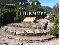 Stock Footage of Thermopylae Ancient Greece Greek Leonidas and the 300 Spartans Battle of Thermopylae Persian Wars