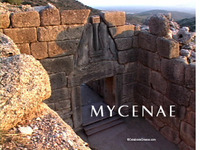 Stock Footage of Mycenae Ancient Greece Greek Bronze Age Homer Iliad Odyssey Agamemnon Trojan War Schliemann Helen of Troy
