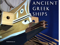 Stock Footage of Ancient Greek Ships Military Merchant Cargo Triremes Greece Themistokles Salamis Persian Wars trade eye