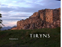 Stock Footage of Tiryns Tirins Birthplace of Hercules Herakles Ancient Greek Hero statues art locations 12 Twelve labors
