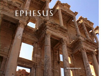 Stock Footage of Ephesus Turkey Ancient Greece Greek Library of Celcus Saint Paul Peter Apostles Virgin Mary Mother Rome Theater