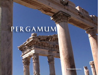 Stock Footage of Pergamun Pergamon Pergamum Turkey Ancient Greece Greek Library Trajan Rome Roman