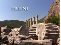 Stock Footage of Priene Turkey Ancient Greece Greek