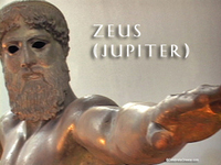 Stock Footage of Zeus Jupiter Art Stautes Ancient Greece Greek God