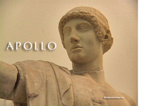 Stock Footage of Apollo Art Stautes Ancient Greece Greek God