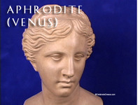 Stock Footage of Aphrodite Venus Art Stautes Ancient Greece Greek Goddess of Love