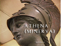Stock Footage of Athena Minerva Art Stautes Ancient Greece Greek Goddess