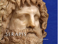 Stock Footage of Serapis Art Stautes Ancient Greece Greek God