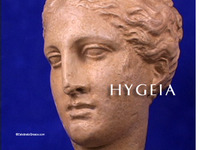 Stock Footage of Hygeia Art Stautes Ancient Greece Greek Goddess of Hygiene