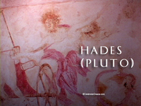Stock Footage of Hades Pluto Art Stautes Ancient Greece Greek God of the Underworld Hell