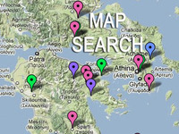 Stock Footage Map Search Page