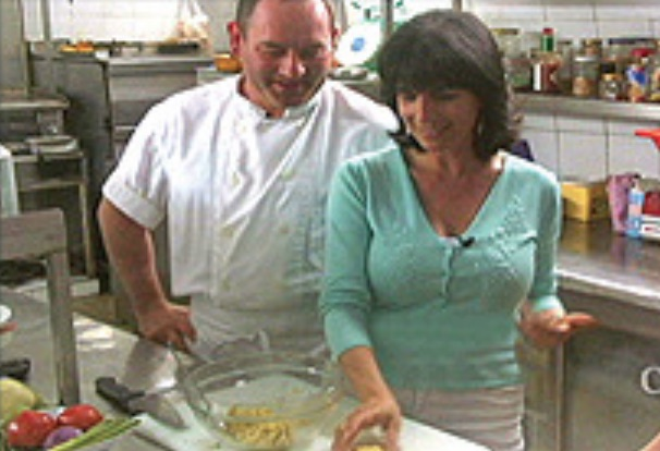 A Greek Islands Destination Cooking Class Image from program Cynthia Daddona with Chef Gregory