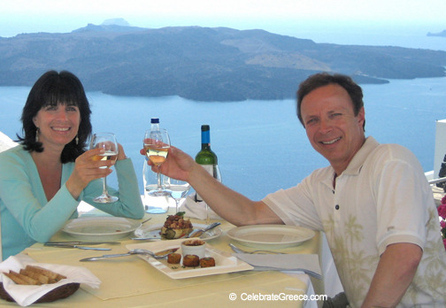 A Greek Islands Destination Cooking Class Image from program (The Goddess and the Greek)