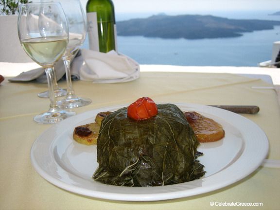 A Greek Islands Destination Cooking Class Main Course Image