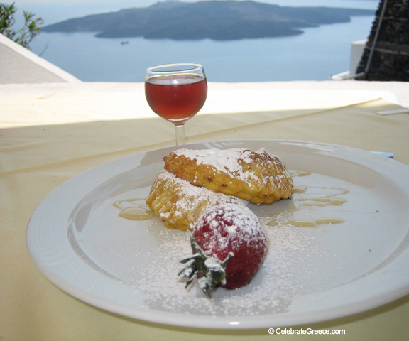 A Greek Islands Destination Cooking Class Dessert Image