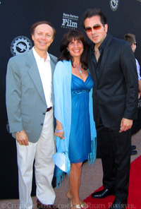 Roger Durling Executive Director Santa Barbara International Film Festival Red Carpet Cynthia Daddona Dr. James Stathis