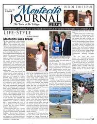 Montecito Goes Greek - Montecito Journal (Santa Barbara, California)