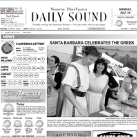 The Goddess and the Greek® appearance at the annual Santa Barbara Greek Festival - The Daily Sound