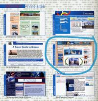 "CelebrateGreece.com as a ""Prime Site"" in Odyssey Magazine"