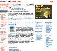 New York Times' About.com Culinary-Travel Review, A Greek Islands Destination Cooking Class