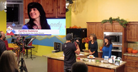 Cynthia Daddona's Well Being Television Segment to 2 Million People talking about Greek Salad and her latest Culinary Travel program Crete - Under the Grecian Sun