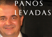 Panos Levadas, former Greek General Secretary of Information Helen Vrynioti Retired Press Counselor of Greece in Los Angeles).