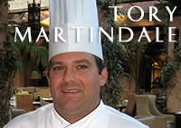 Tory Martindale, Four Seasons Executive Chef
